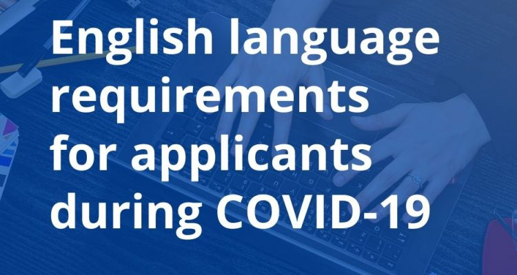 Acceptance of Your English Proficiency during COVID-19