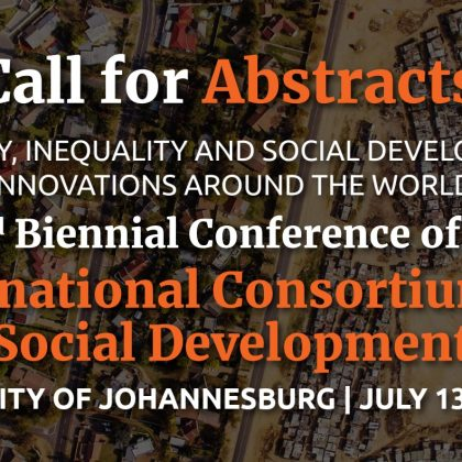 22nd Biennial Conference of the International Consortium for Social Development