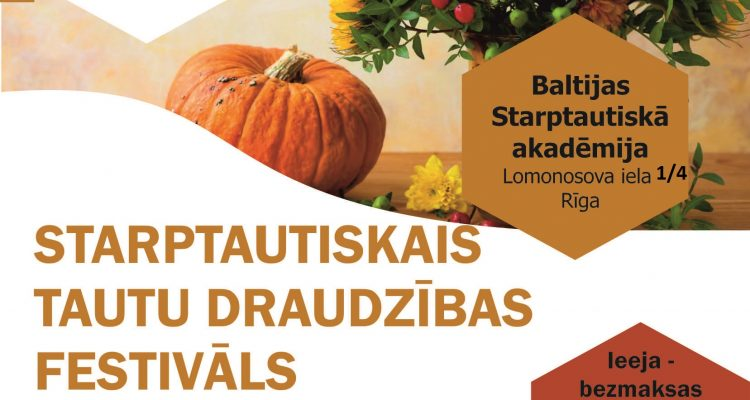 The International Nations' Friendship Festival will take place in Riga
