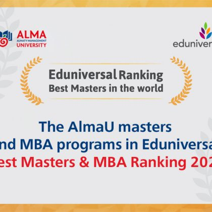 Congratulate our Colleagues from Almaty Management University